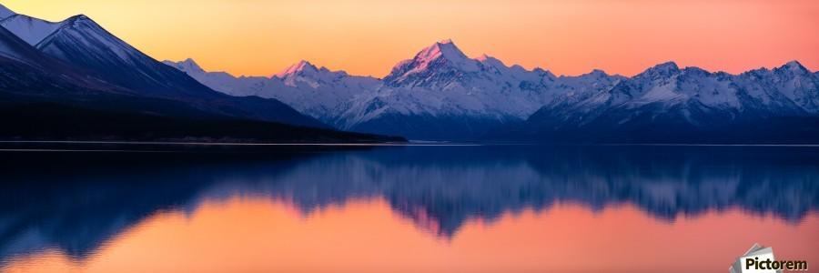 Mount Cook, New Zealand  Print