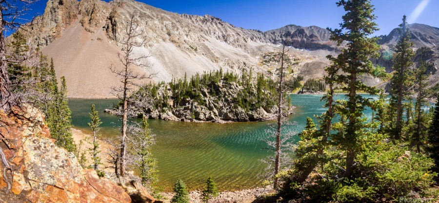 Lake Agnes Colorado   Print