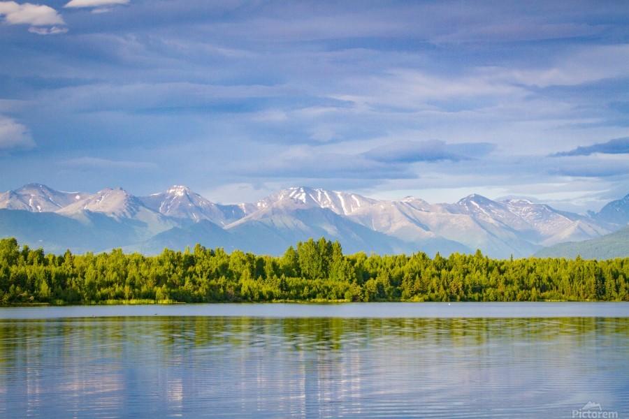 Summer in Alaska  Print