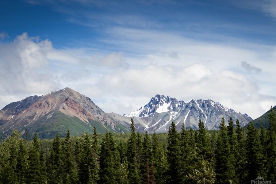 Photos Alaska Mountains  Print