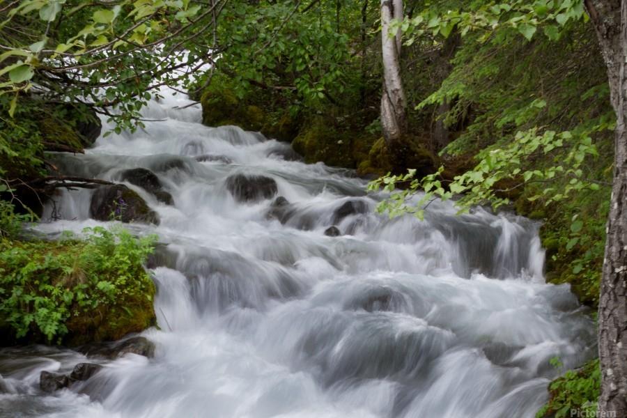Beautiful Waterfall Photograph  Print