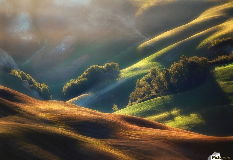 Tuscany Sunrise  Print