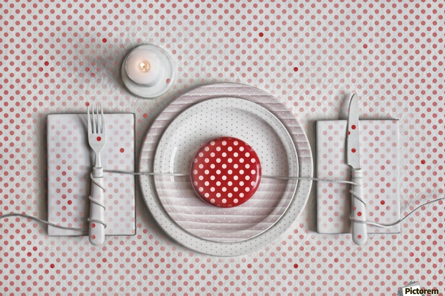 Dotted Dinner  Print