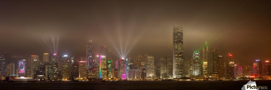 Hong Kong Island by Daniel Murphy   Print