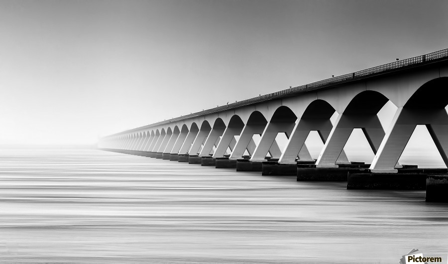 The Endless Bridge  Print