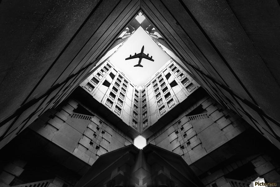 Plane city  Print