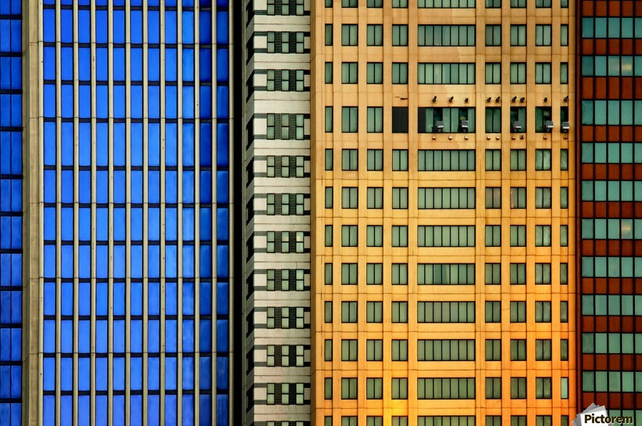 Windows on the City by So Sad Mathilde  Print