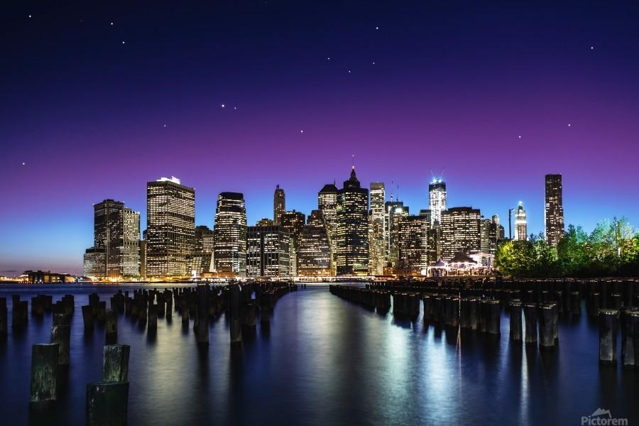 New York Sky Line  Print