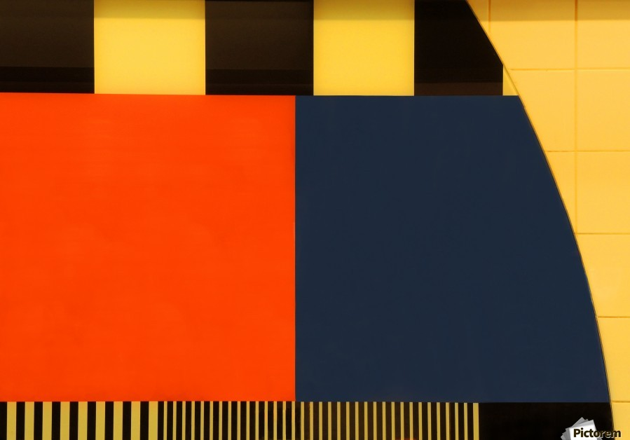 NOS Testscreen  03 by Huib Limberg   Print