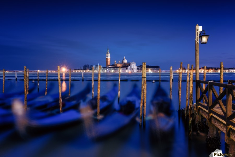 San Giorgio Maggiore Island, Venice by Photography by Karen  Print