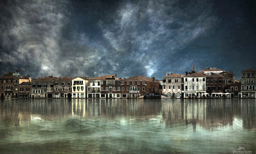 Reflections in Venice  Print