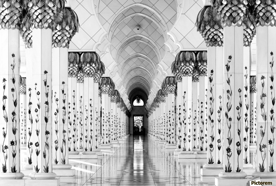 Sheik Zayed Mosque  Print
