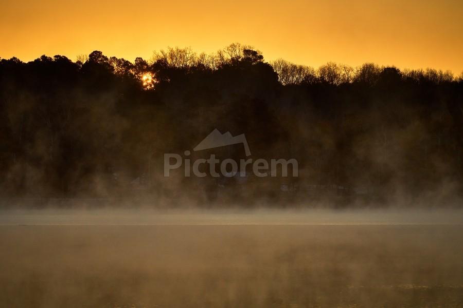 Sunrise at Langley Pond Park   Aiken SC 7R301594 12 19 20  Print