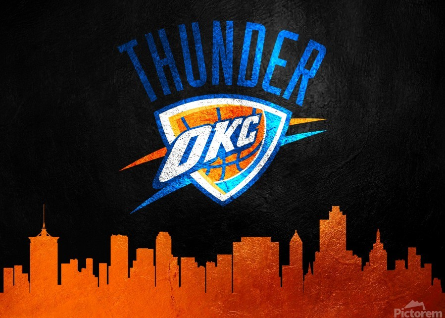 Oklahoma City Thunder  Print