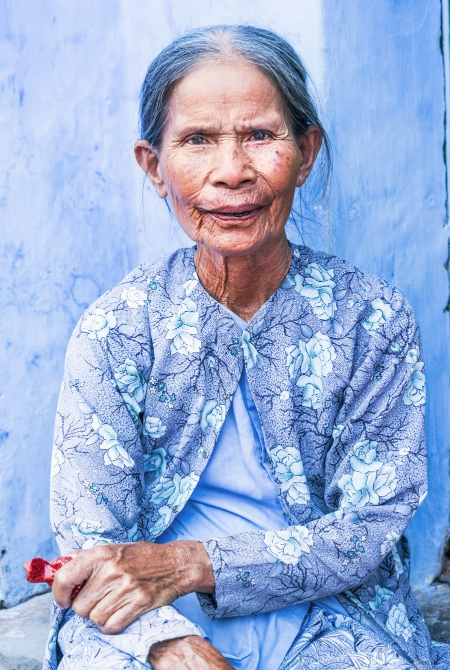 THE BLUE LADY OF HOI AN  Print
