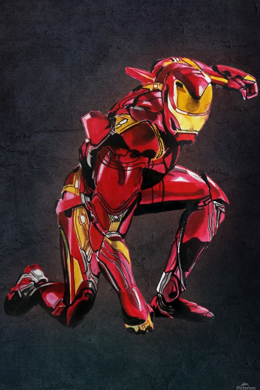 Ironman Asp Arts Toile