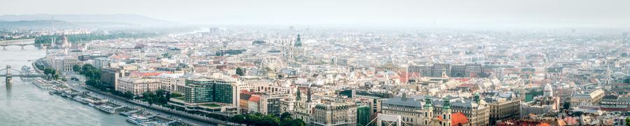 Budapest panorama  Print