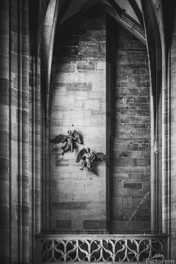Gothic angels  Print