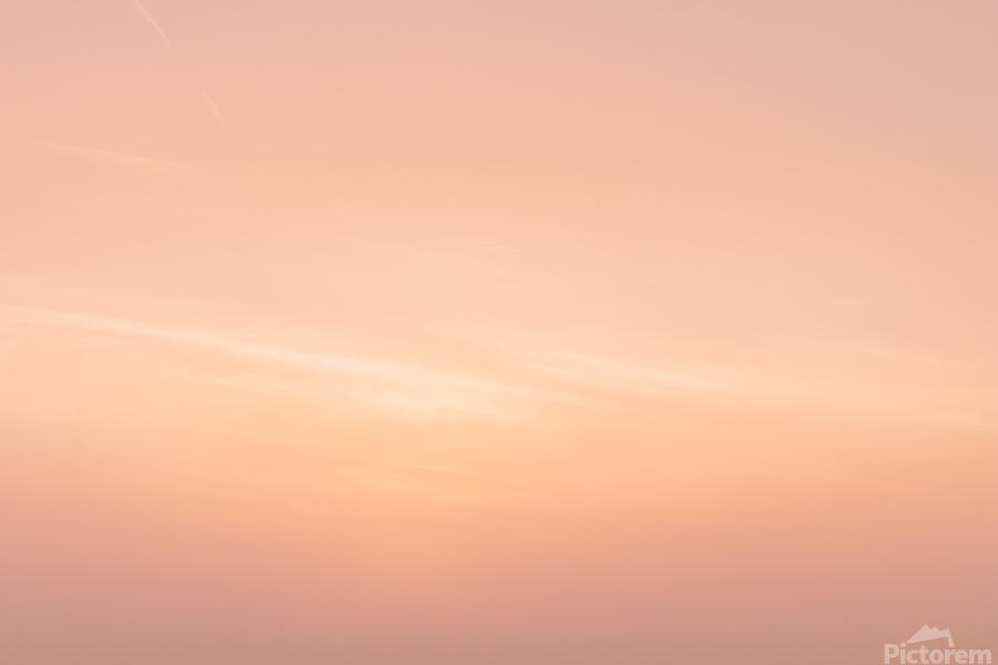 Pastel clouds  Print