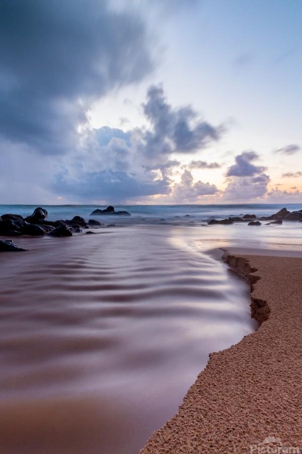 Where the Heavens Meet the Sea  Print