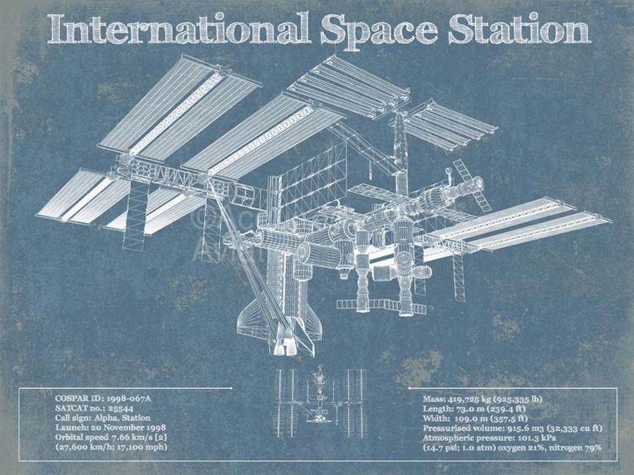 SpaceStation  Print