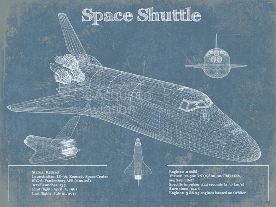 spaceshuttle  Print
