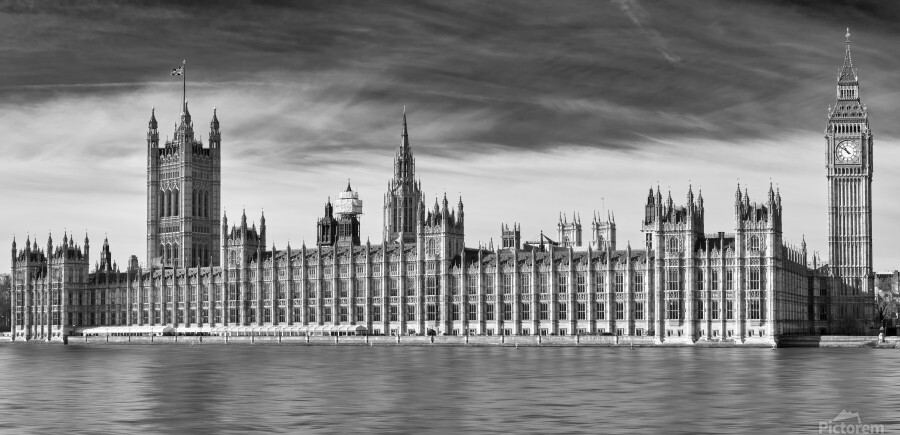 Houses Of Parliament  Print