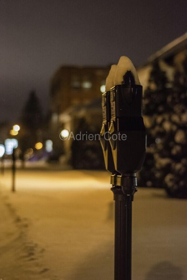 One winter night  Print
