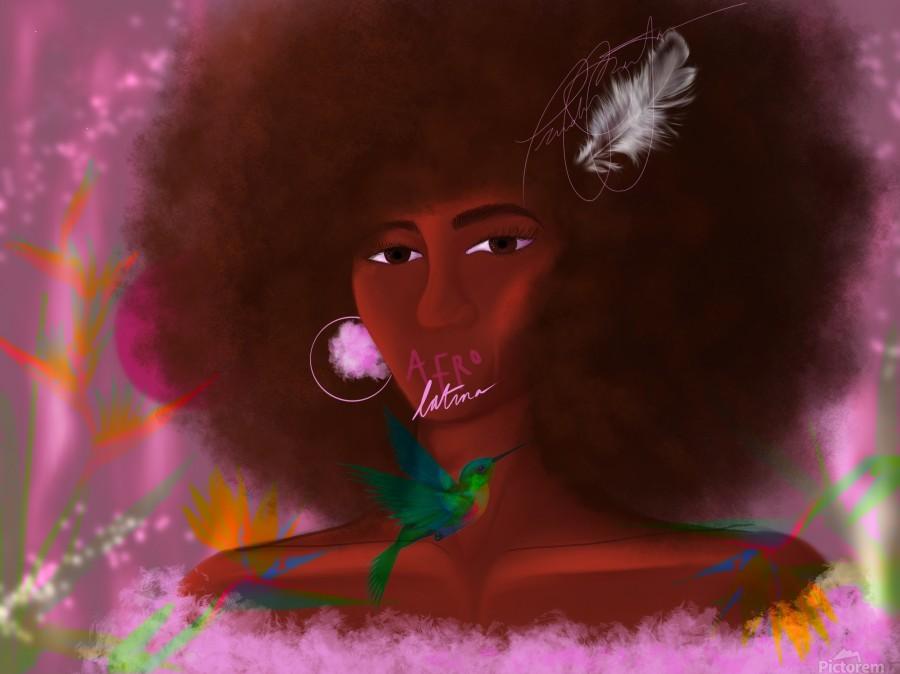 Afro Latina  Print