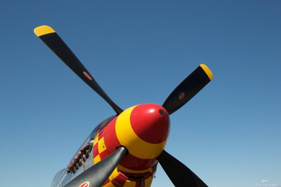 P-51 Mustang Propeller  Print