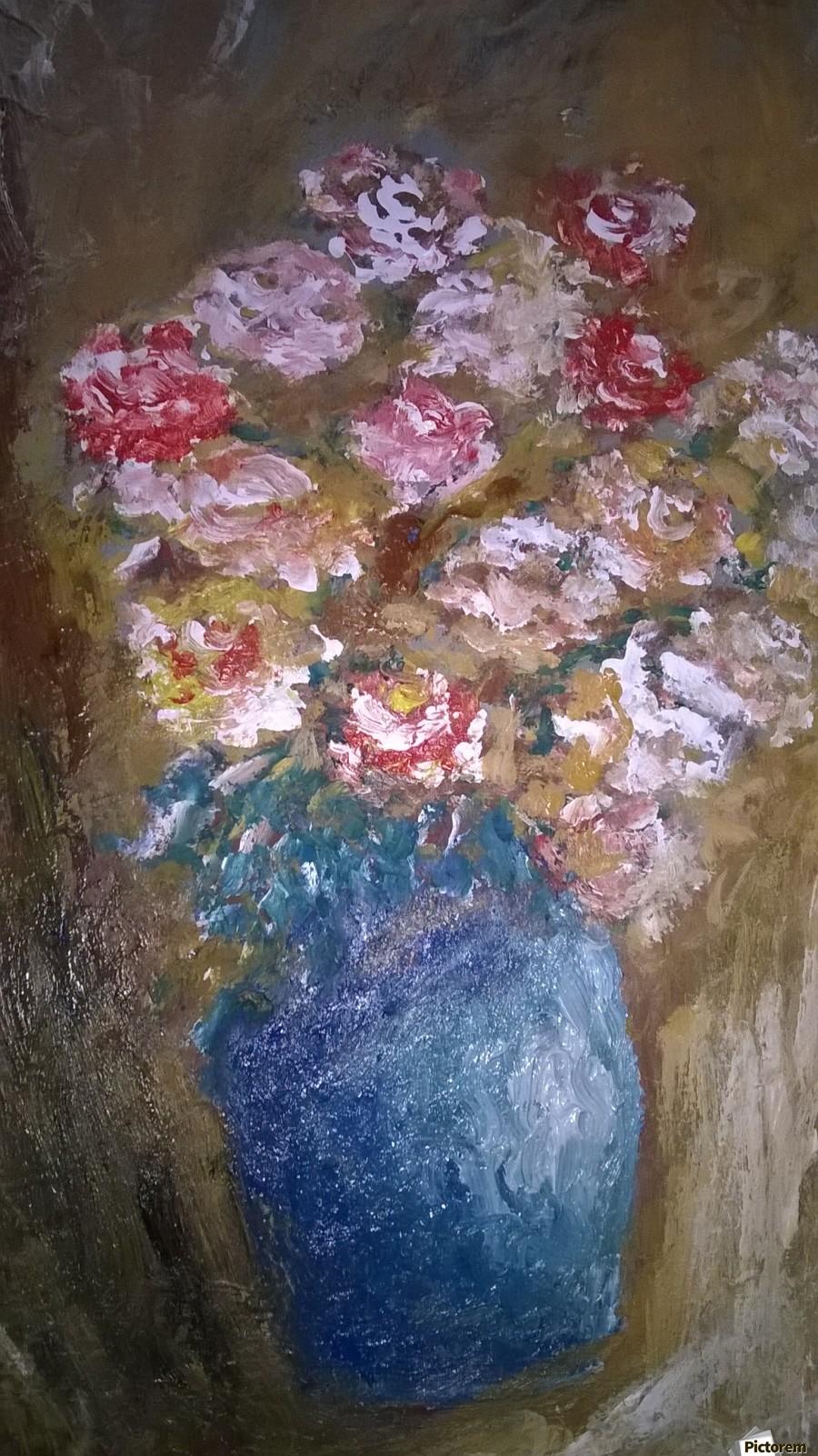 flowers vase  Print