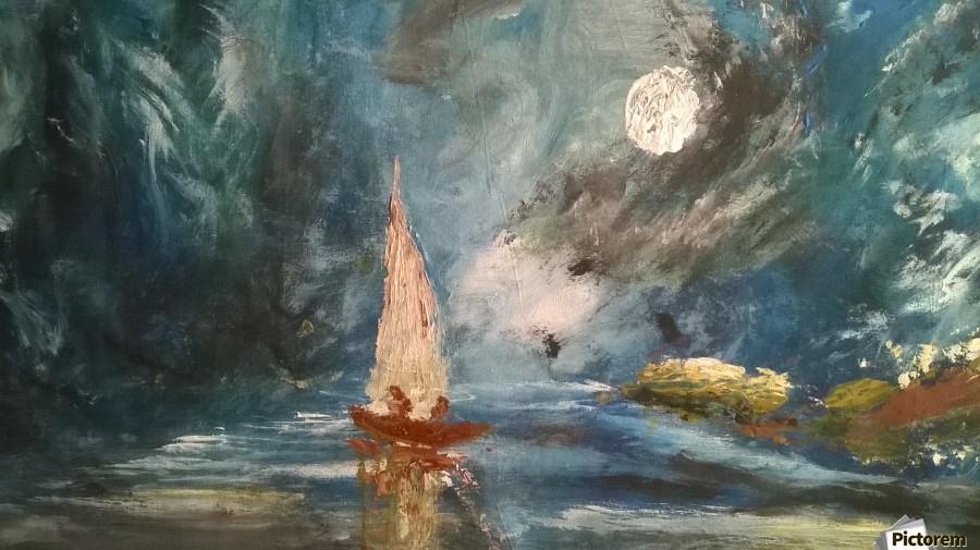 lost boat  Print