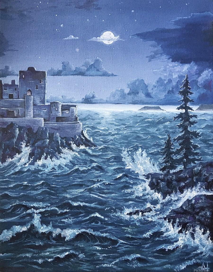Storm  Print