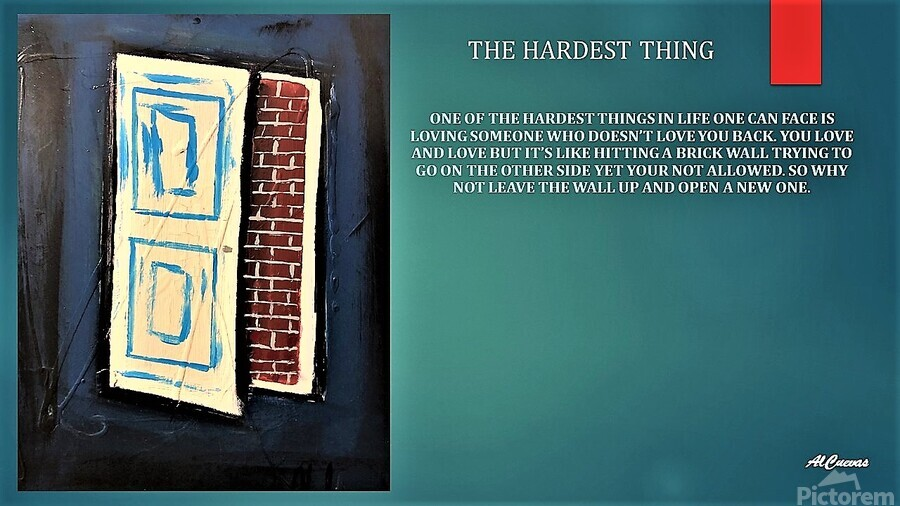 9.THE HARDEST THING  2   Print