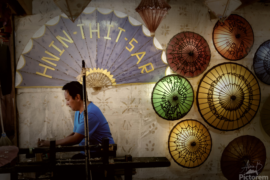 Umbrella maker  Print