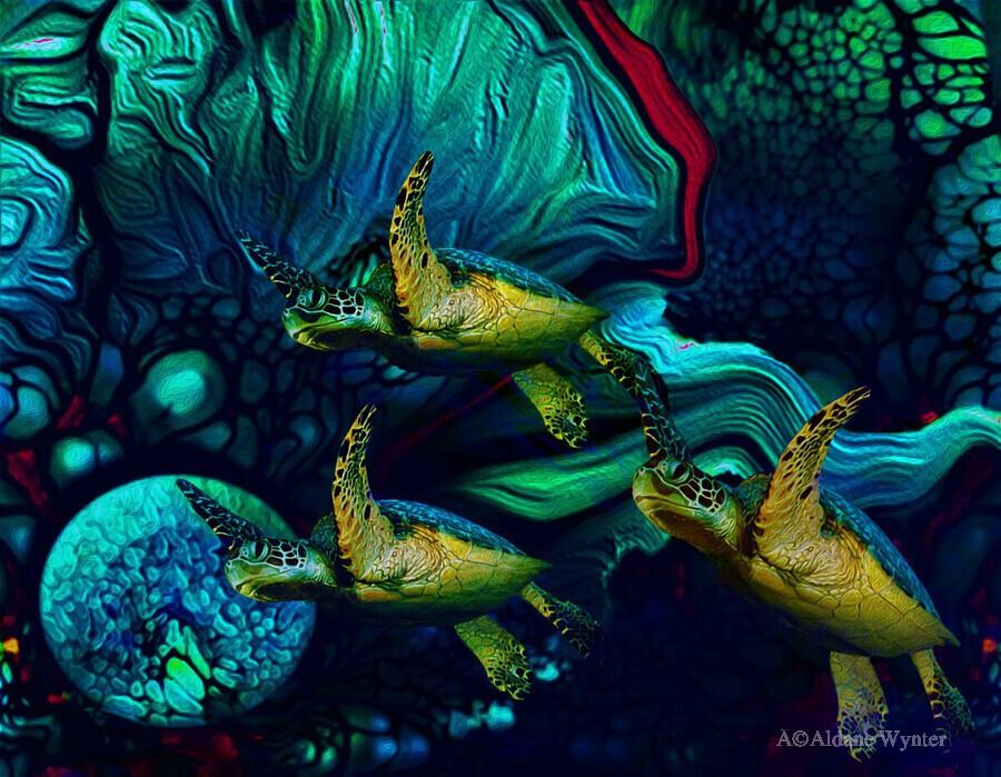 Turtles en Saison 8  Print
