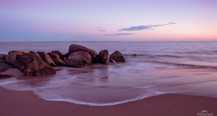 Coney Island sunset  Print