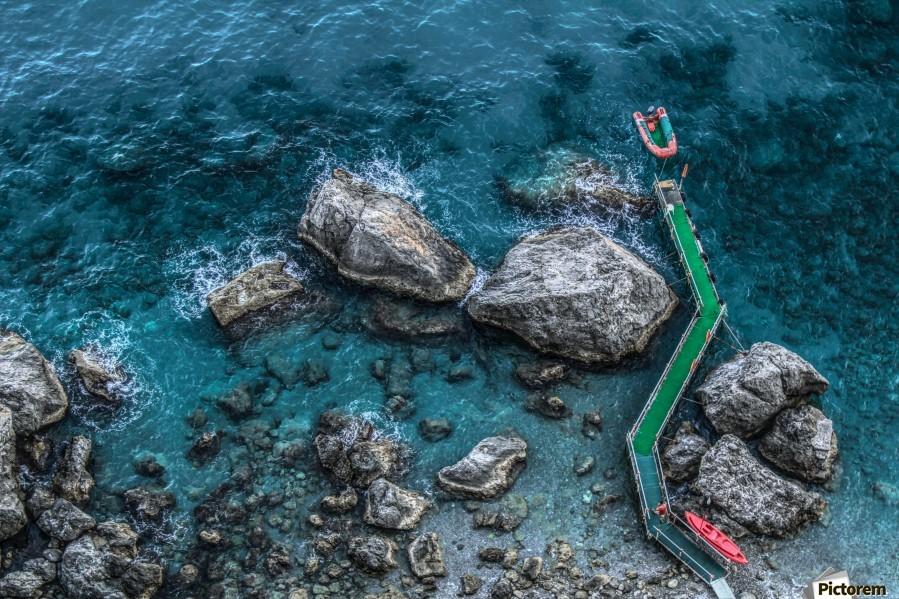The Beach - Amalfi Coast - Italy  Print