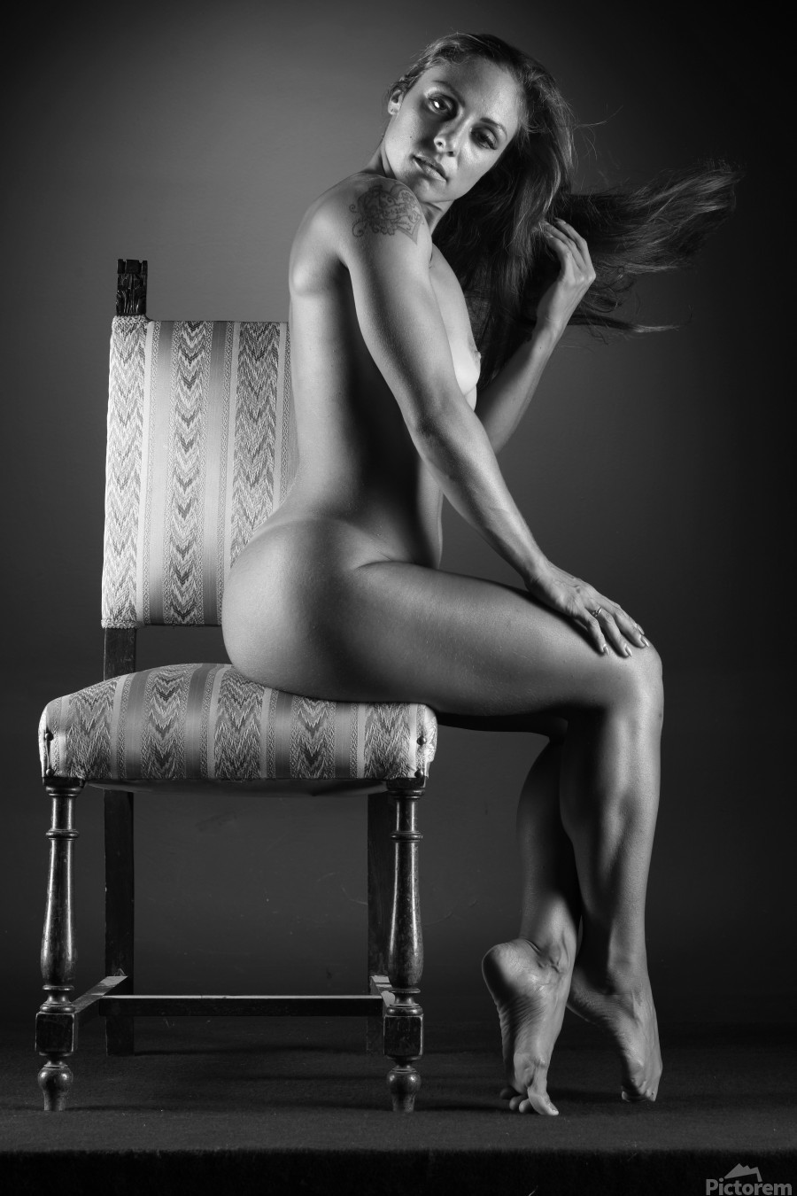 Naked_woman_young_nude_bodyscape  Print