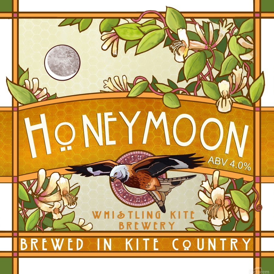 Whistling Kite Brewery: Honeymoon  Print
