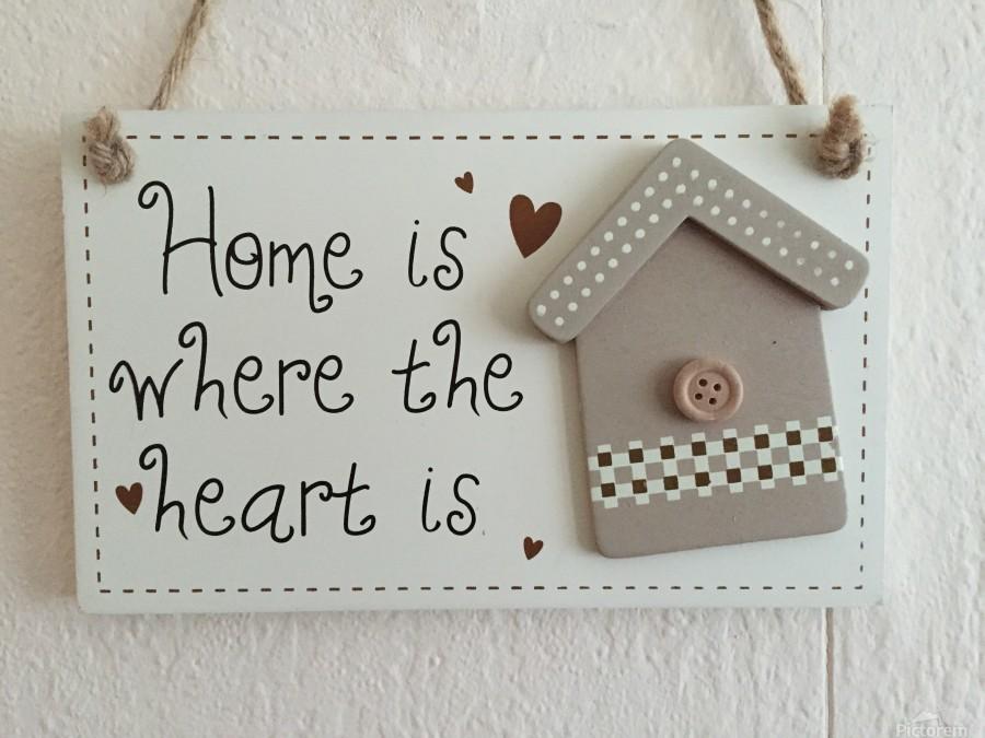 Sweet Home  Print