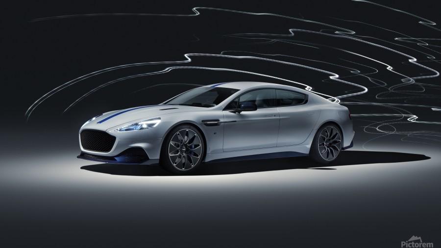 Aston martin rapid Car  Print