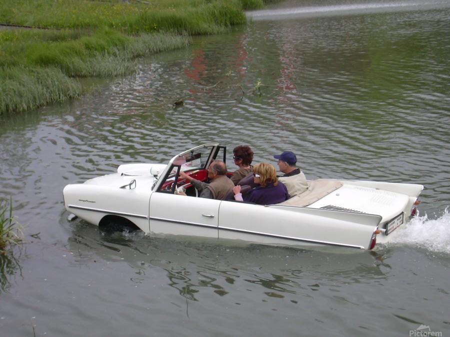 Amphicar model Unique amphibious model car  Print