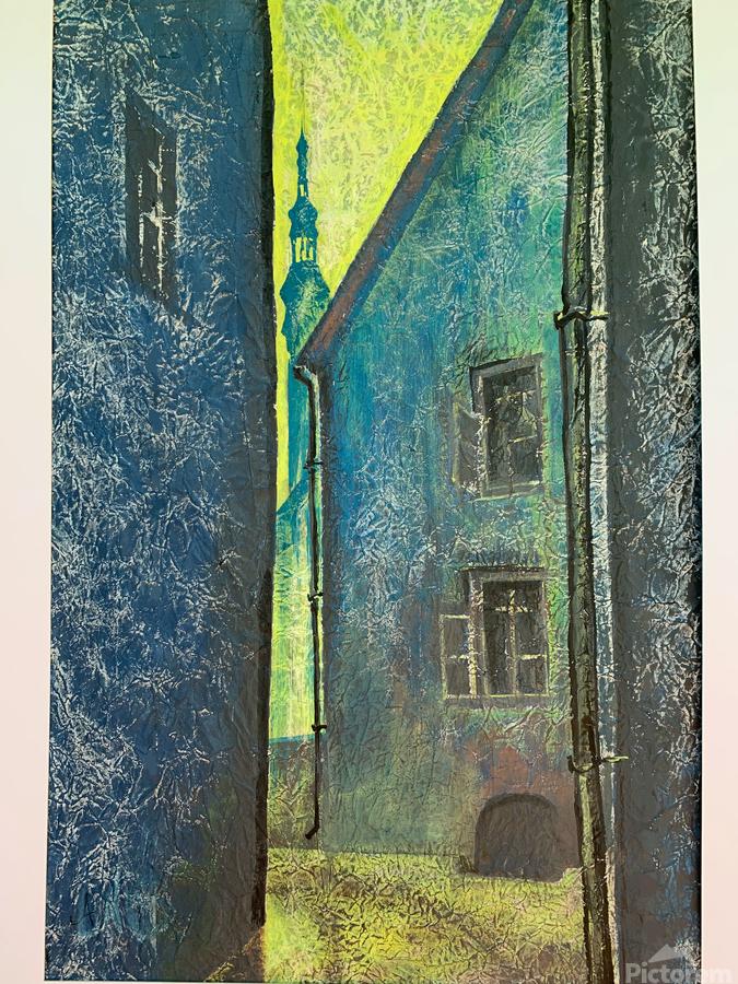 Old Tomas  Print