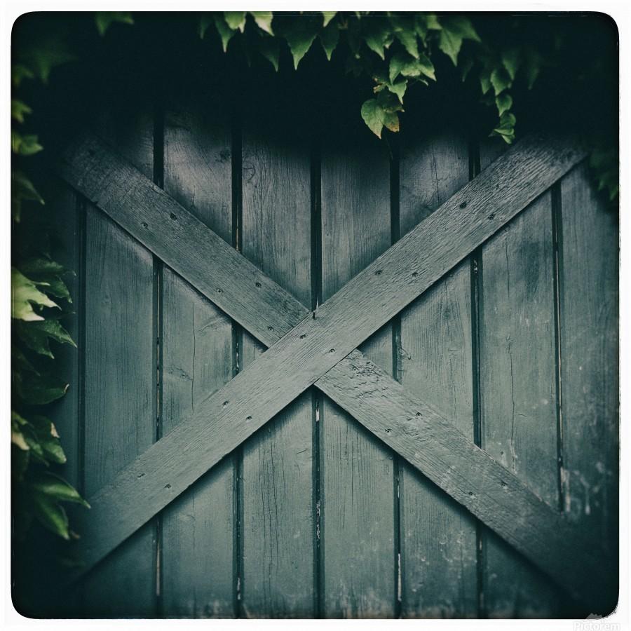 Green Doorway  Print