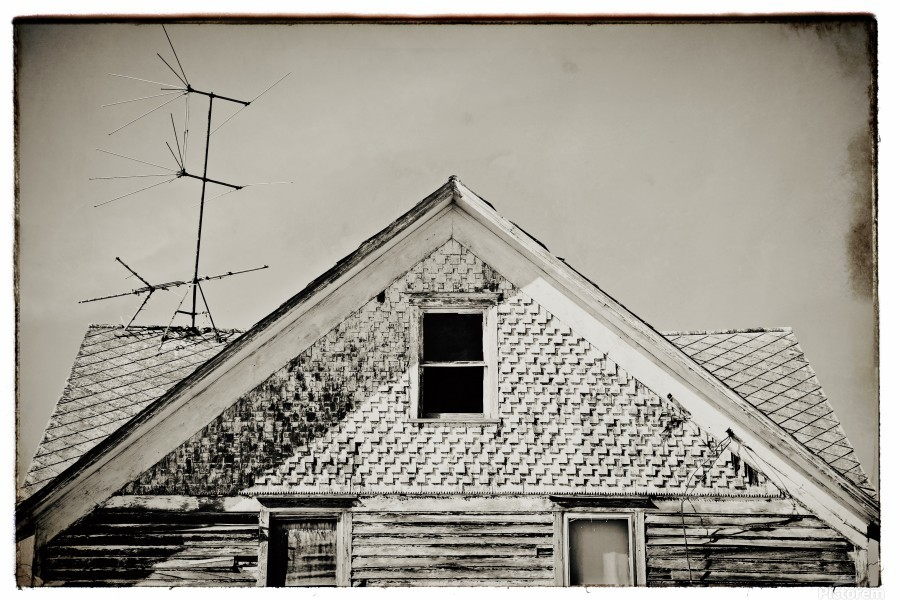 Top of the house  Print