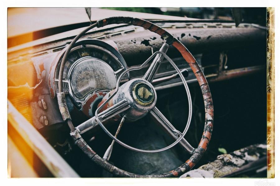 Vintage Chrysler  Print