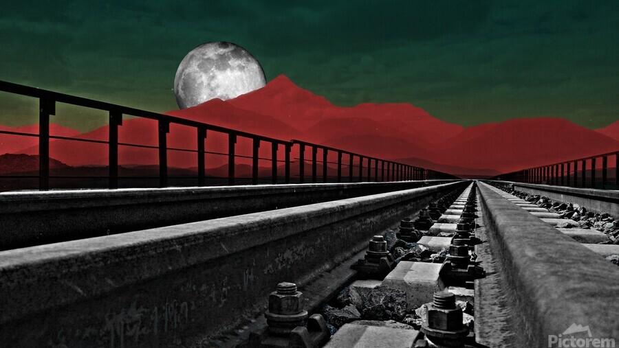 Railroad   Print