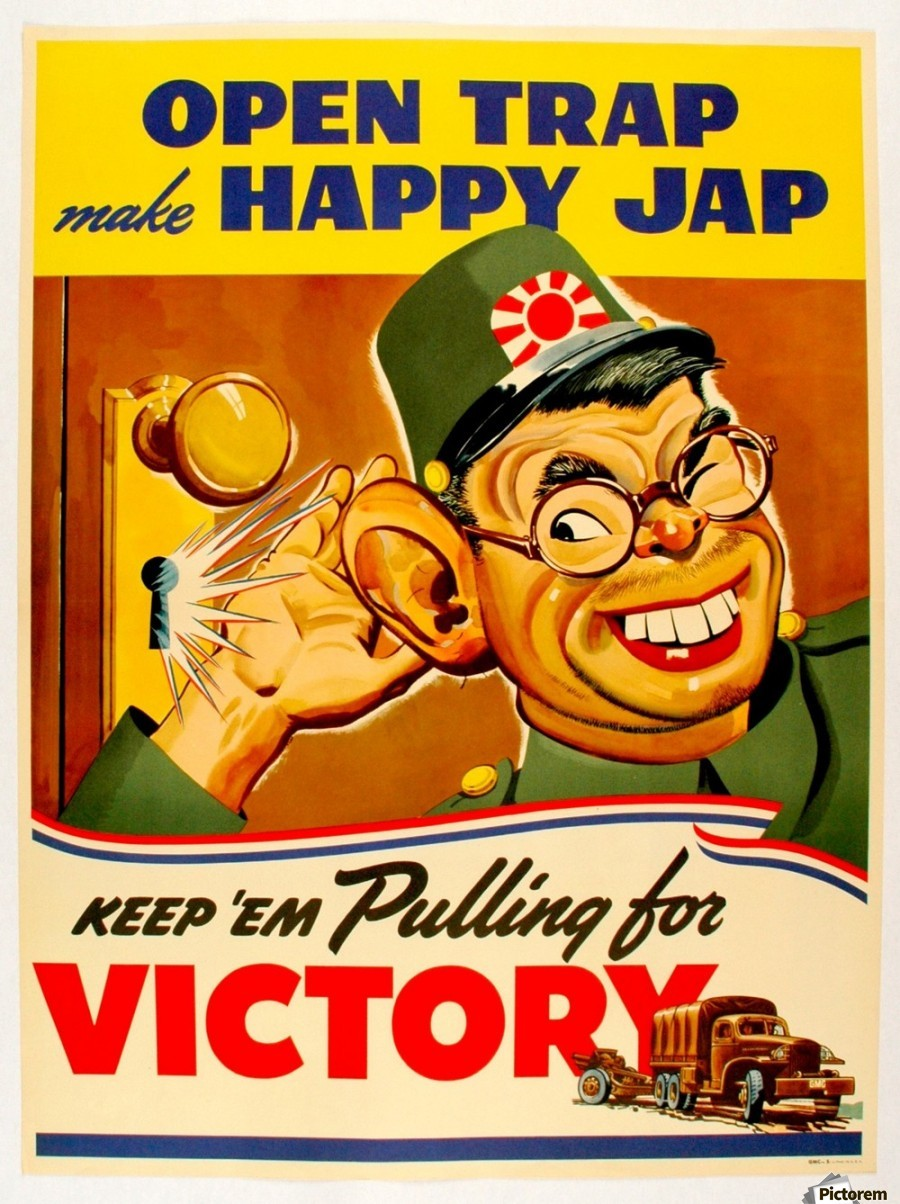 Image result for japanese american war propaganda