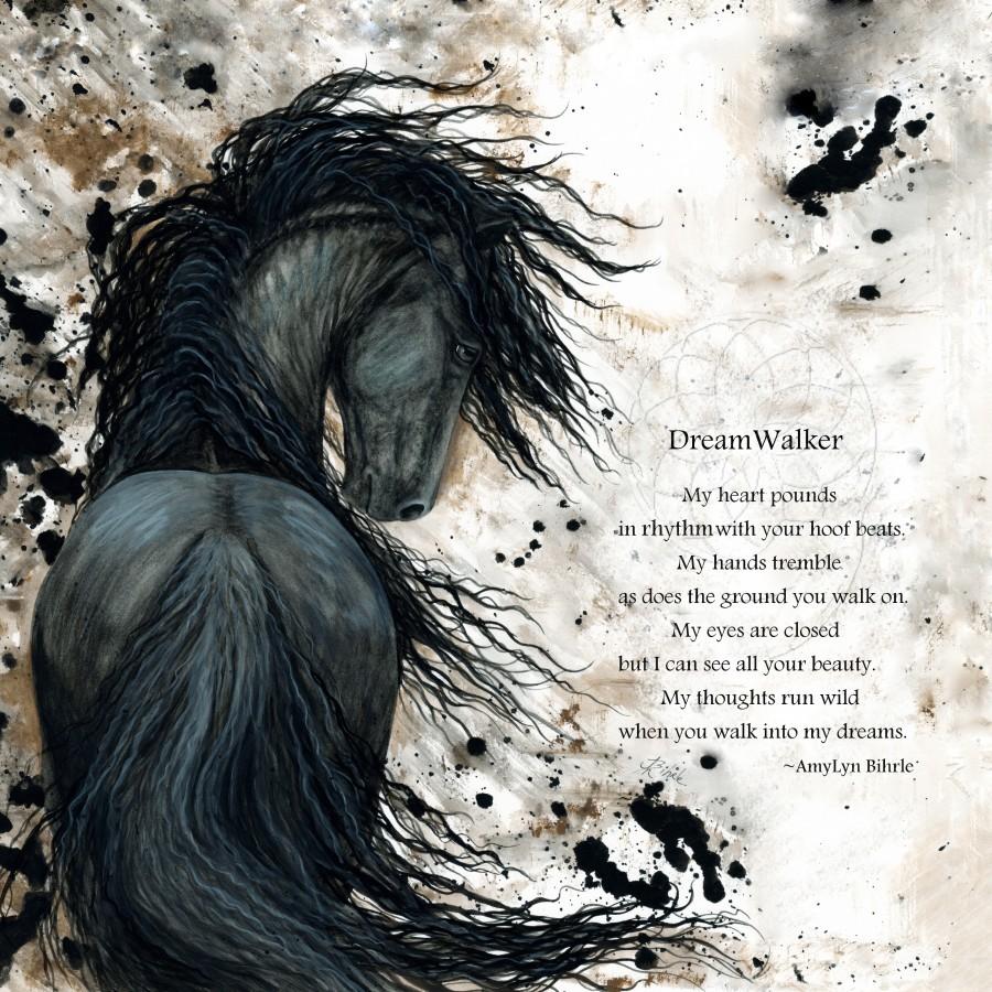 DreamWalker Dream Horse   Print